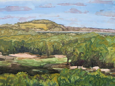 Bethany Lee Painting - Pilot Knob by Bethany Lee