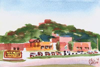 Pilot Knob Mountain W402 Art Print by Kip DeVore
