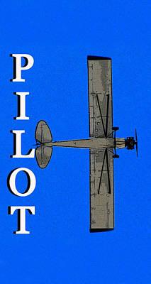 Small Planes Photograph - Pilot Long Print Smart Phone Case by David Lee Thompson
