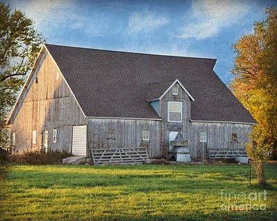 Photograph - Pilot Mound Barn by Kathy M Krause