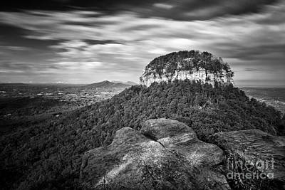 Pilot Mountain 1 Art Print