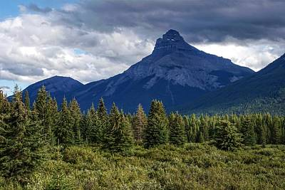 Photograph - Pilot Mountain, Alberta by Heather Vopni