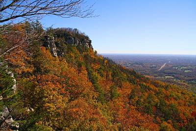 Photograph - Pilot Mountain In Fall by Kathryn Meyer