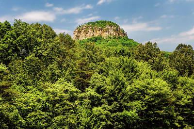 Photograph - Pilot Mountain North Carolina  -  Pilotmountain185895 by Frank J Benz