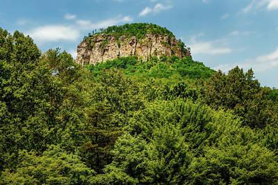 Photograph - Pilot Mountain North Carolina  -  Pilotmountain185904 by Frank J Benz