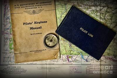 Pilot Necessary Gear Art Print by Paul Ward