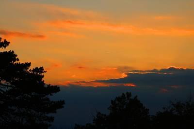Photograph - Pilot Sunset 1 by Kathryn Meyer