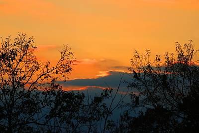 Photograph - Pilot Sunset 2 by Kathryn Meyer