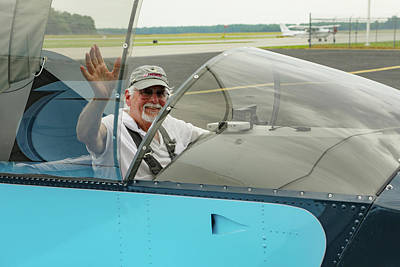 Photograph - Pilot Vic Vicari by Jeff Kurtz
