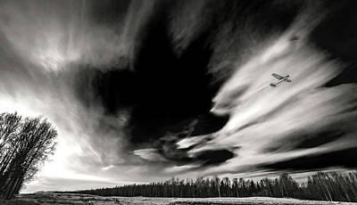 Pilot's Sky Art Print by Ron Day