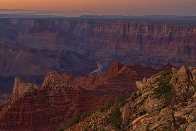 Photograph - Pima Point Sunset by Stephen  Vecchiotti