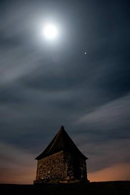 Photograph - Pimple Moon II by Helen Northcott