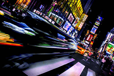 Times Square Photograph - Pimp'n It by Az Jackson