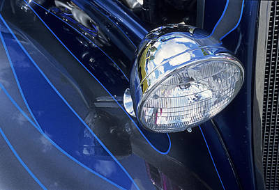 Photograph - Pin Stripped And Head Light by Doug Davidson