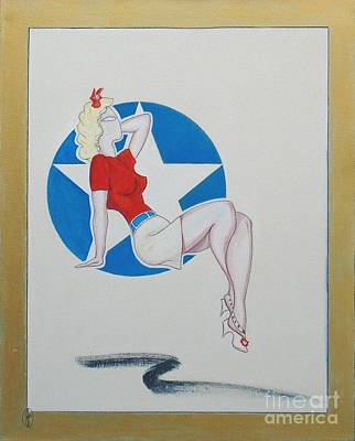 Painting - Pin-up #2 by John Lyes