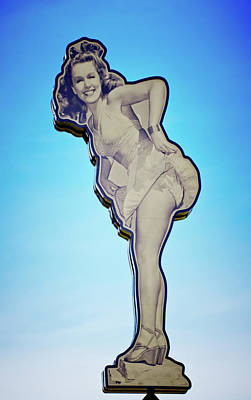 Photograph - Pin Up Girl Rita Hayworth by Linda Unger