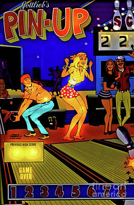 Photograph - Pin-up Pinball by Colleen Kammerer