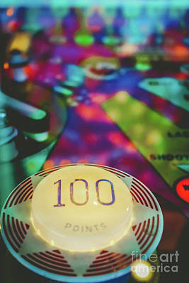 Photograph - Pinball 100 by Colleen Kammerer