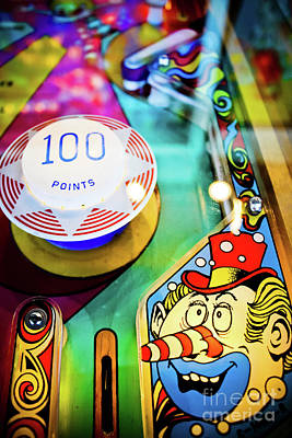 Photograph - Pinball Art - Clown by Colleen Kammerer