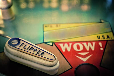 Photograph - Pinball - Flipper by Colleen Kammerer