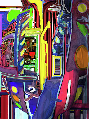 Digital Art - Pinball by Ian  MacDonald