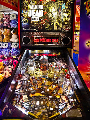 Photograph - Pinball - The Walking Dead by Colleen Kammerer