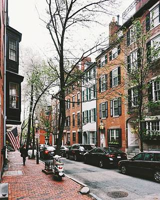 Wall Art - Photograph - Pinckney Street In Spring by Brian McWilliams