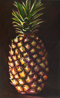 Painting - Pine Apple by Shannon Grissom