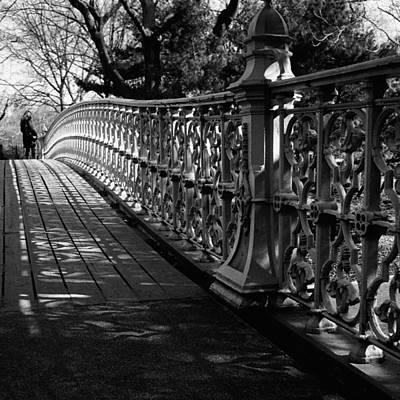 Photograph - Pine Bank Bridge by Cornelis Verwaal