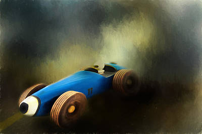 Photograph - Pine Box Derby by David and Carol Kelly