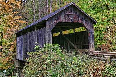 Photograph - Pine Brook Bridge by Allen Beatty