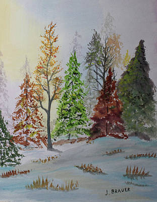 Pine Cove Art Print