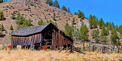 Photograph - Pine Creek Barn by Ansel Price