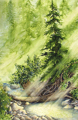Painting - Pine Creek by Connie Williams