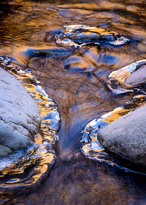 Photograph - Pine Creek Reflection No. 2 by Joe Doherty