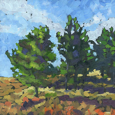 Painting - Pine Grove by Marla Laubisch