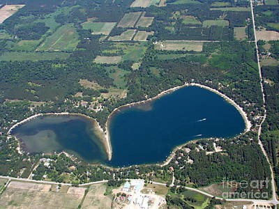 Photograph - Pine Lake Waushara County Wisconsin by Bill Lang