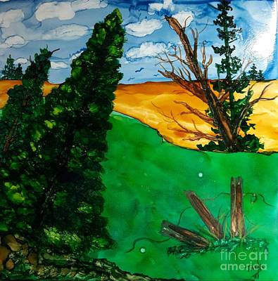 Painting - Pine Ridge by Terri Mills