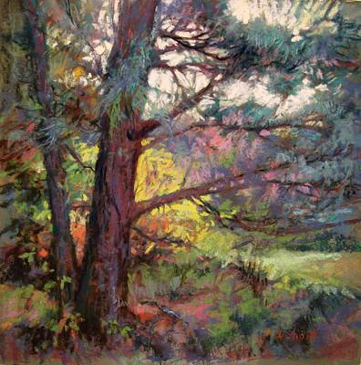 Painting - Pine Tree Dance by Donna Shortt