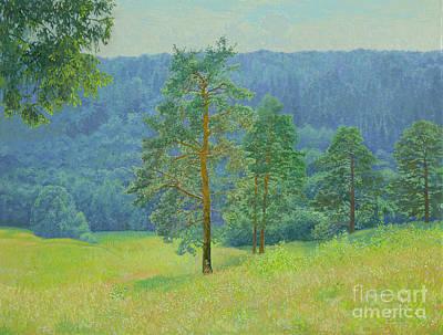 Painting - Pine-tree Grove by Simon Kozhin