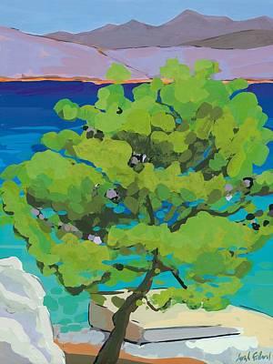 Pinetree Painting - Pine Tree by Sarah Gillard