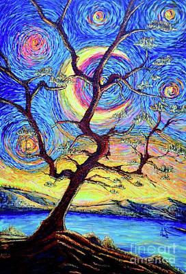 Painting - Pine Tree by Viktor Lazarev