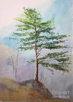 Painting - Pine Tree by Yohana Knobloch
