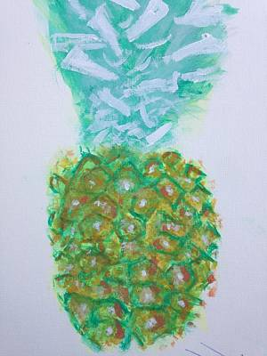 Painting - Pineal Pineapple by Contemporary Michael Angelo