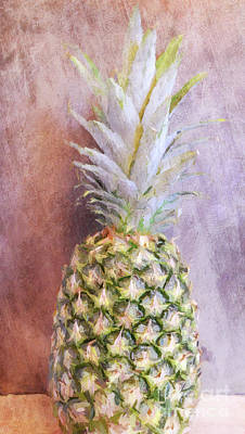 Photograph - Pineapple 6 by Andrea Anderegg
