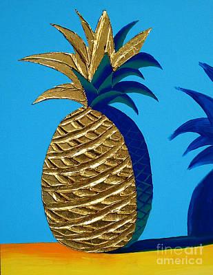 Painting - Pineapple by Albert Simonian