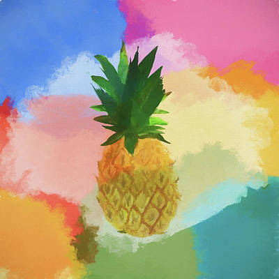 Pineapple Painting - Pineapple by Dan Sproul