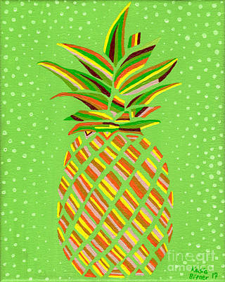 Photograph - Pineapple Delight by Kasia Bitner