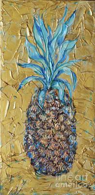 Painting - Pineapple Gold by Linda Olsen