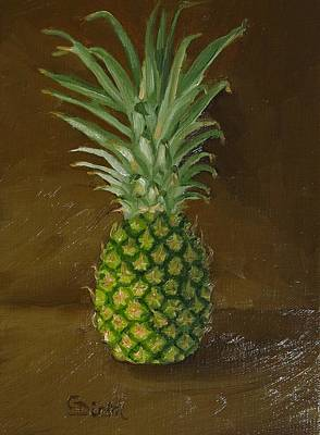 Painting - Pineapple by Grace Diehl